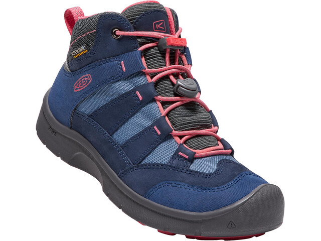 Keen Hikeport Mid WP Shoes Youth dress blues/sugar coral